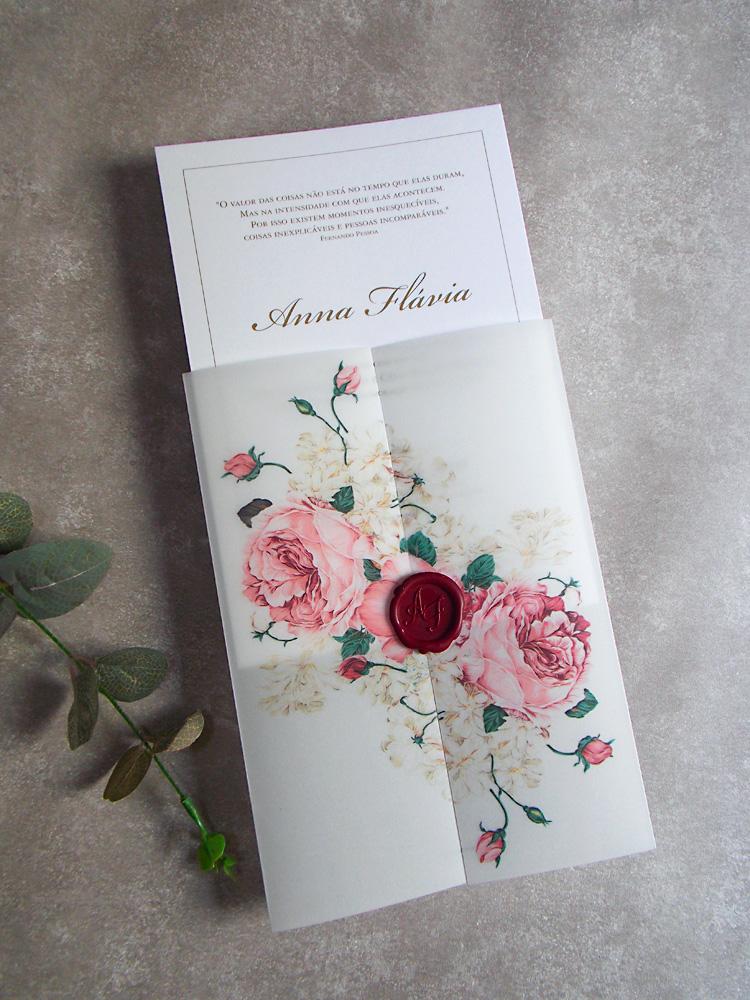 Convite-de-15-anos-Floral-Marsala